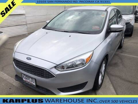 2017 Ford Focus for sale at Karplus Warehouse in Pacoima CA