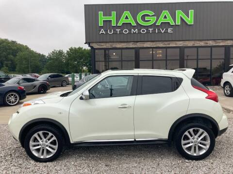 2012 Nissan JUKE for sale at Hagan Automotive in Chatham IL