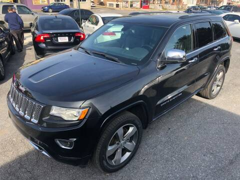2016 Jeep Grand Cherokee for sale at Trimax Auto Group in Baltimore MD
