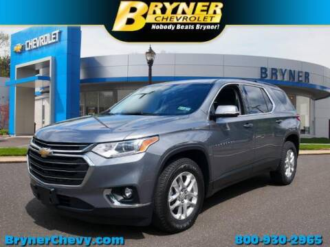2019 Chevrolet Traverse for sale at BRYNER CHEVROLET in Jenkintown PA