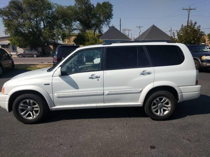 2004 Suzuki XL7 for sale at Creekside Auto Sales in Pocatello ID
