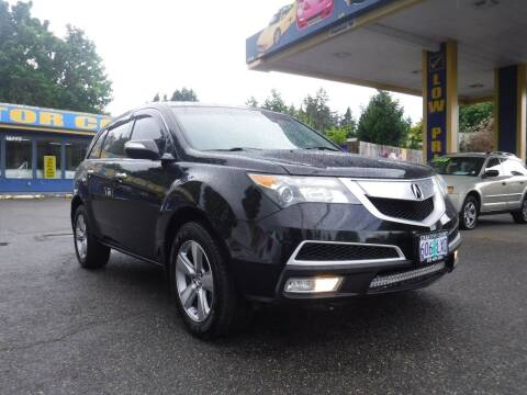 2011 Acura MDX for sale at Brooks Motor Company, Inc in Milwaukie OR