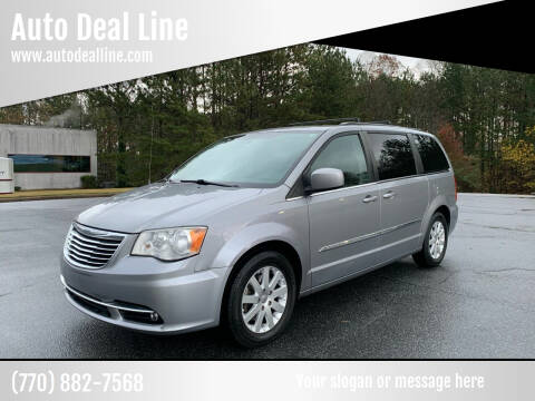 2014 Chrysler Town and Country for sale at Auto Deal Line in Alpharetta GA