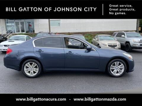 2012 Infiniti G37 Sedan for sale at Bill Gatton Used Cars - BILL GATTON ACURA MAZDA in Johnson City TN