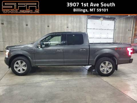 2018 Ford F-150 for sale at SFR Wholesale in Billings MT