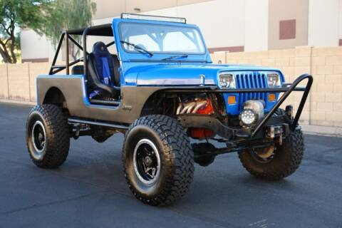 1988 Jeep Wrangler for sale at Arizona Classic Car Sales in Phoenix AZ