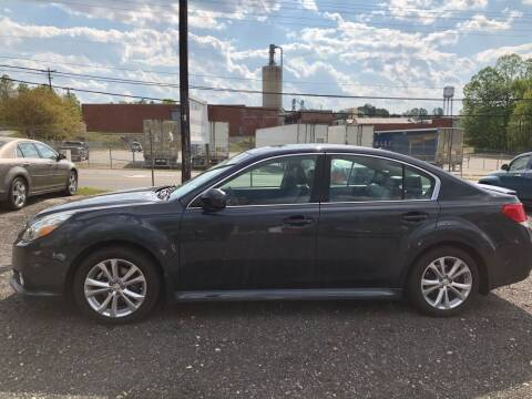 2013 Subaru Legacy for sale at C&C Motor Sales LLC in Hudson NC