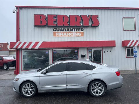 2014 Chevrolet Impala for sale at Berry's Cherries Auto in Billings MT