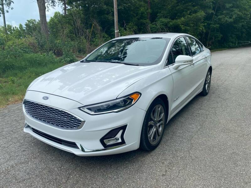 2019 Ford Fusion Hybrid for sale at Speed Auto Mall in Greensboro NC
