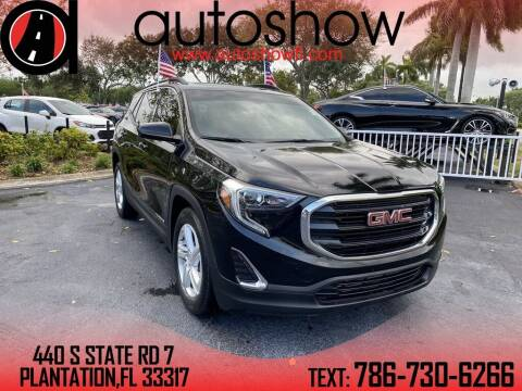 2018 GMC Terrain for sale at AUTOSHOW SALES & SERVICE in Plantation FL
