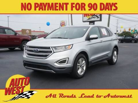 2017 Ford Edge for sale at Autowest of Plainwell in Plainwell MI