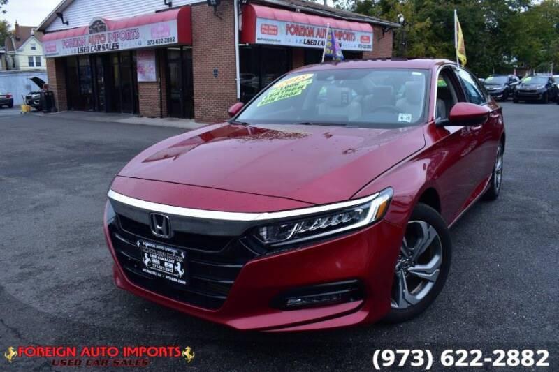 2018 Honda Accord for sale at www.onlycarsnj.net in Irvington NJ