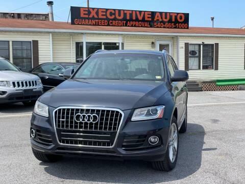 2013 Audi Q5 for sale at Executive Auto in Winchester VA