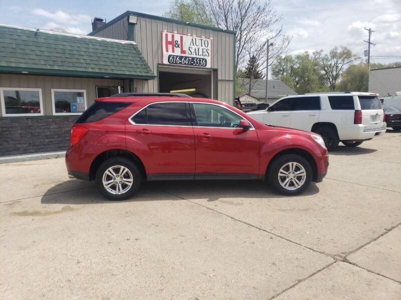 2015 Chevrolet Equinox for sale at H & L AUTO SALES LLC in Wyoming MI