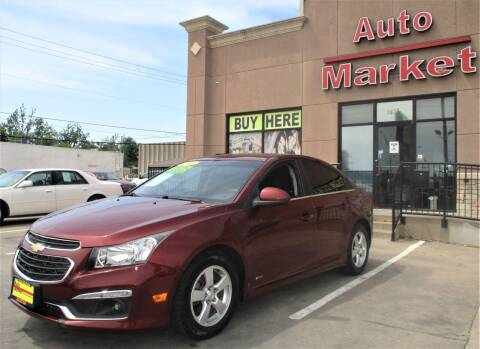 2016 Chevrolet Cruze Limited for sale at Auto Market in Oklahoma City OK