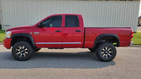 2008 Dodge Ram Pickup 3500 for sale at TNK Autos in Inman KS