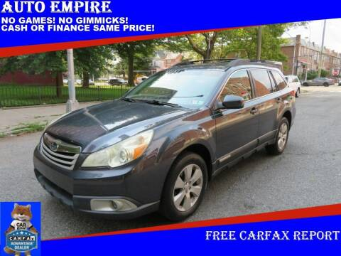 2010 Subaru Outback for sale at Auto Empire in Brooklyn NY