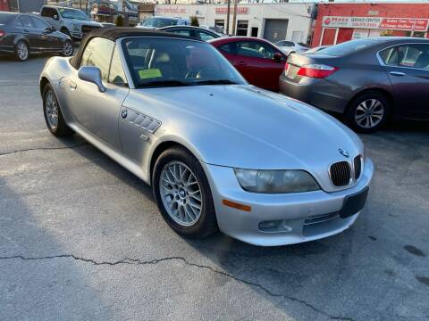 2000 BMW Z3 for sale at Mass Auto Exchange in Framingham MA