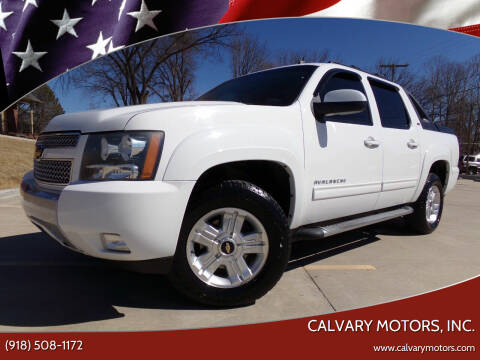 2012 Chevrolet Avalanche for sale at Calvary Motors, Inc. in Bixby OK