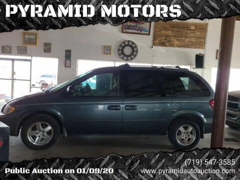 2005 Dodge Caravan for sale at PYRAMID MOTORS - Pueblo Lot in Pueblo CO