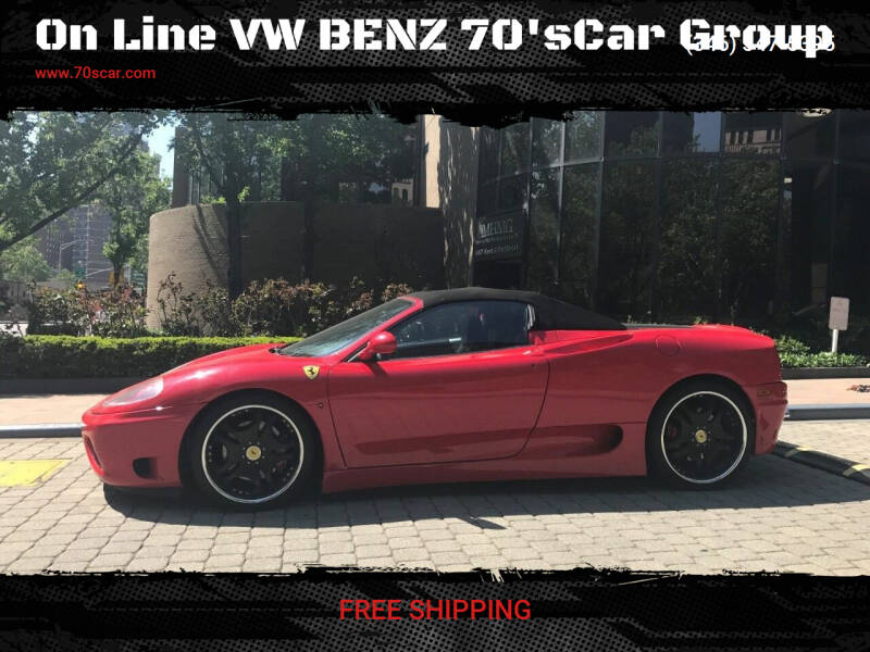 2001 Ferrari 360 Spider for sale at OnLine VW-BENZ.COM Auto Group in Riverside CA