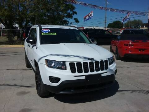 2015 Jeep Compass for sale at Express AutoPlex in Brownsville TX