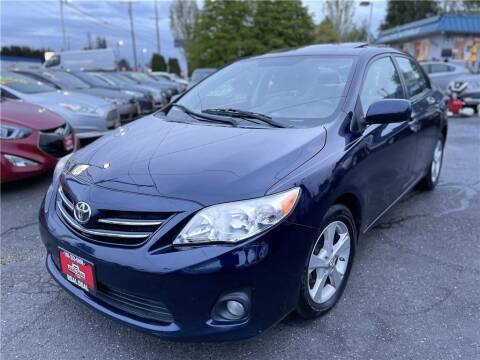 2013 Toyota Corolla for sale at Real Deal Cars in Everett WA