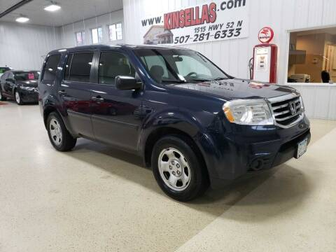 2012 Honda Pilot for sale at Kinsellas Auto Sales in Rochester MN