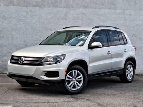 2015 Volkswagen Tiguan for sale at Divine Motors in Las Vegas NV