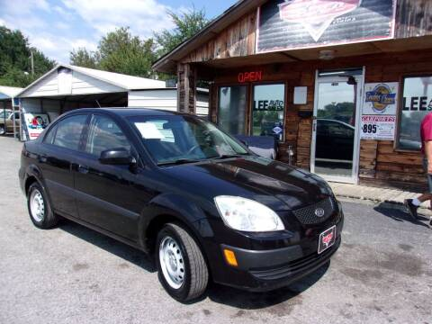 2009 Kia Rio for sale at LEE AUTO SALES in McAlester OK