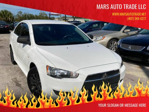 2013 Mitsubishi Lancer for sale at Mars auto trade llc in Kissimmee FL