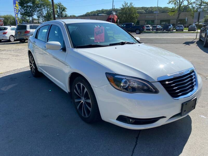2013 Chrysler 200 for sale at EAST CHESTER AUTO GROUP INC. in Kingston NY