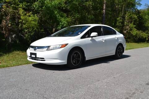 2012 Honda Civic for sale at Car Bazaar in Pensacola FL