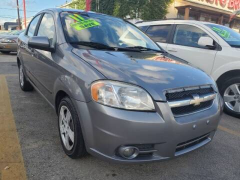 2011 Chevrolet Aveo for sale at USA Auto Brokers in Houston TX
