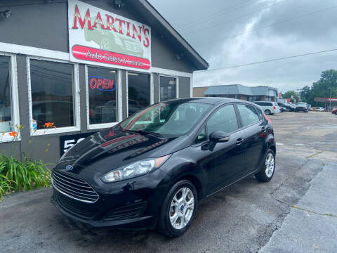 2016 Ford Fiesta for sale at Martins Auto Sales in Shelbyville KY