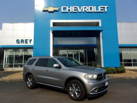 2016 Dodge Durango for sale at Grey Chevrolet, Inc. in Port Orchard WA
