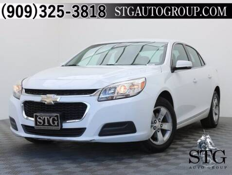 2016 Chevrolet Malibu Limited for sale at STG Auto Group in Montclair CA