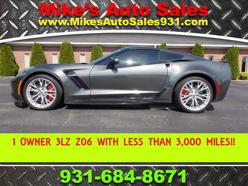 2017 Chevrolet Corvette for sale at Mike's Auto Sales in Shelbyville TN