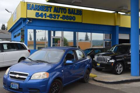 2007 Chevrolet Aveo for sale at Earnest Auto Sales in Roseburg OR