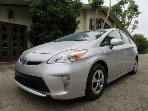 2012 Toyota Prius for sale at Santa Barbara Auto Connection in Goleta CA