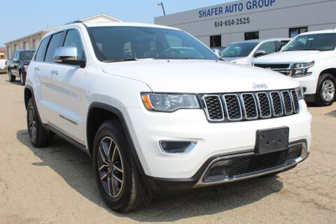 2020 Jeep Grand Cherokee for sale at SHAFER AUTO GROUP in Columbus OH