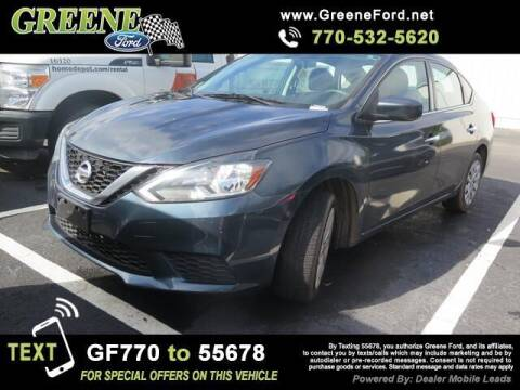 2016 Nissan Sentra for sale at NMI in Atlanta GA