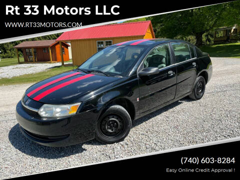 2004 Saturn Ion for sale at Rt 33 Motors LLC in Rockbridge OH