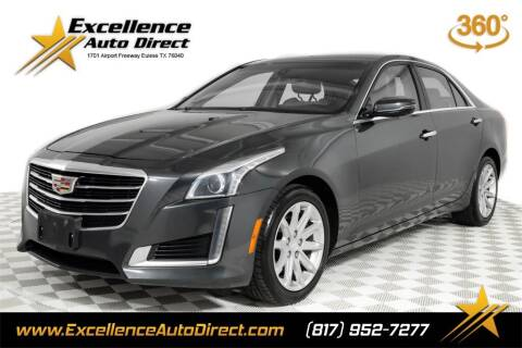 2015 Cadillac CTS for sale at Excellence Auto Direct in Euless TX