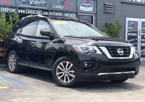 2019 Nissan Pathfinder for sale at CARUCARS LLC in Miami FL