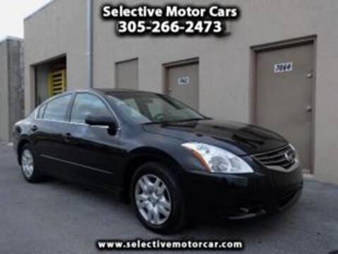 2011 Nissan Altima for sale at Selective Motor Cars in Miami FL