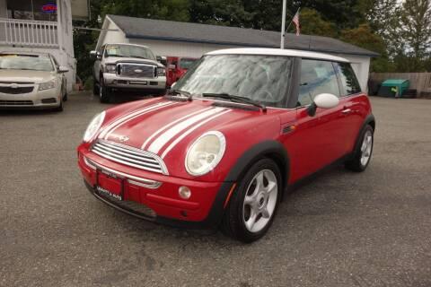 2002 MINI Cooper for sale at Leavitt Auto Sales and Used Car City in Everett WA