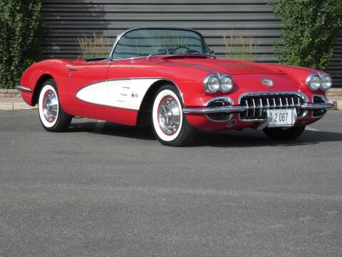 1958 Chevrolet Corvette for sale at Sun Valley Auto Sales in Hailey ID