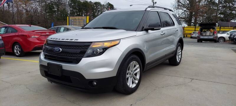2014 Ford Explorer for sale at DADA AUTO INC in Monroe NC