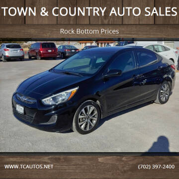 2017 Hyundai Accent for sale at TOWN & COUNTRY AUTO SALES in Overton NV